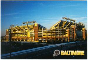 Baltimore Ravens Stadium at Camden Yards Postcard #1