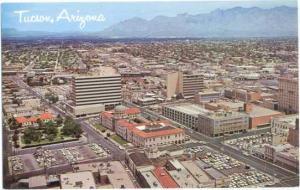Downtown Tucson, Arizona, AZ Chrome