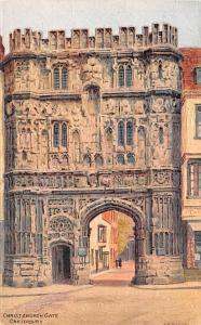 Canterbury United Kingdom, Great Britain, England Christ Church Gate Canterbu...