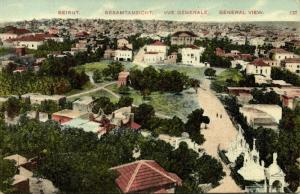 lebanon, BEIRUT BEYROUTH, General View (1910s)