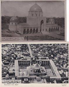 Najaf Temple Baghdad Iraq 2x Antique Postcard s