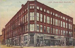 Phoenix Block, Meadville, Pennsylvania, PU-1912