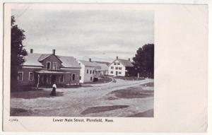 P235 JL old postcard plainfield mass lower main st