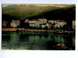 172899 CROATIA Lovrana Lovran view Vintage postcard