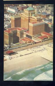 Atlantic City, New Jersey/NJ Postcard, Aerial View Of Chalfonte-Haddon Hall