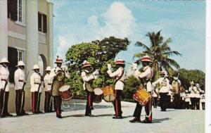 Bahamas Nassau Government House Changing Of The Guard