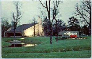 North Chicago, Illinois Postcard ALLGAUER'S FIRESIDE 2855 N Milwaukee Ave c1960s