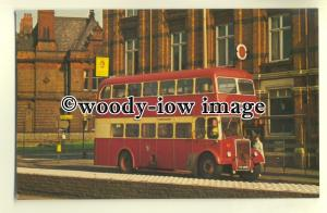 tm5468 - Widnes Corporation Bus no 43 - postcard