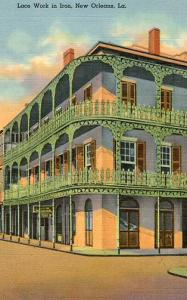 LA - New Orleans, Lace Work in Iron