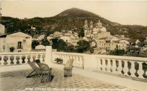 RPPC Postcard Hotel Taxqueño Taxco Guerrero Mexico Unposted c1930s