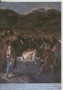 Postal 009040: Hallazgo de la Santisima Virgen, Monasterio Guadalupe, Caceres