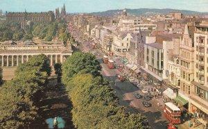 Marks & Spencers Princes Street Edinburgh Zoo 1970s Scottish Postcard