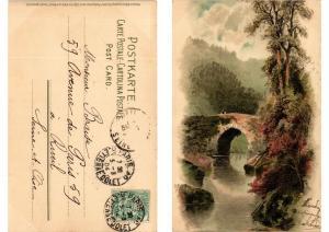 CPA Von Wald und Wiese Meissner & Buch Litho Serie 1230 (730625)