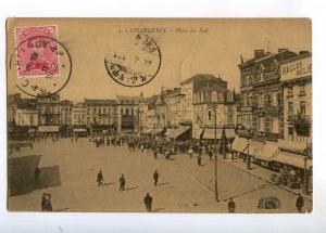 236452 BELGIUM CHARLEROI Place du Sud 1922 y RPPC to Ethiopia