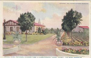 SAN DIEGO , California, 1915 Exposition; Model Bungalow