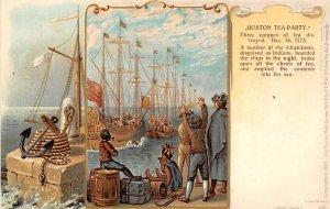 Boston tea party December 6, 1773 History Unused
