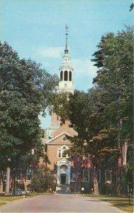 Postcard The Baker Memorial Library, Dartmouth College, Hanover, NH