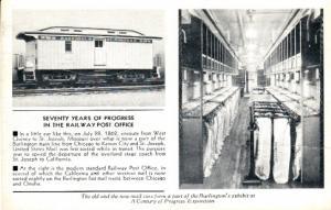 Seventy Years of Progress in the Railway Post Office