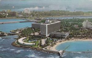 Caribe Hilton, Gem of the Caribbean, San Juan, Puerto Rico, PU-1963