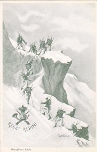 Italian Alps , Reggto 5o Alpini , Cordata , Battaglione Edolo , 00-10s