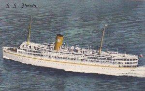Florida Miami S S Florida Nassau Cruise P and O Steamship Company 1962