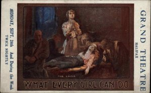 Play Promo Poster Art WHAT EVERY GIRL CAN DO Grand Theatre Halifax UK PC