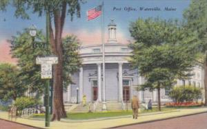 Maine Waterville The Post Office
