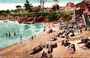 California Sun Bathing Pacific Grove Near Monterey 1912