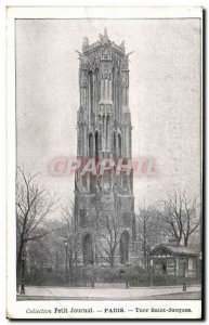 Paris Old Postcard Tour Saint Jacques