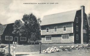 Administration Building At Camp Leo Washington Artvue