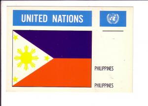 Philippines, Flag, United Nations