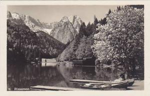 RP, Boats, Rissersee, Bavaria, Germany, 1920-1940s