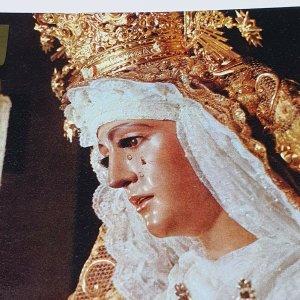 Vintage Collectible Post Card Sevilla - Nuestra Senora de la Esperanza (Triana)