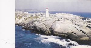LIGHTHOUSE , Peggy's Cove , Nova Scotia , Canada ,40-60s