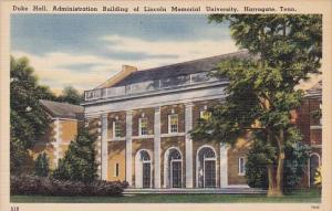 Tennesse Harrogate Duke Hall Administration Building Of Lincoln Memorial Univ...
