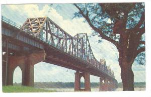 The Mississippi River Bridge, Baton Rouge,  Louisiana,  40-60s