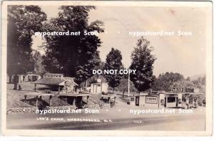 RPPC, Len's Camp, Warrensburg NY