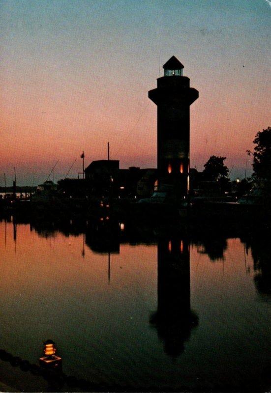 South Carolina Hilton Head Island Harbour Town Sunset 1977