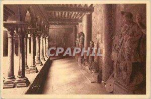 Old Postcard Aix en Provence (B R) Cathedrale Saint Sauveur Interieur du Cloi...