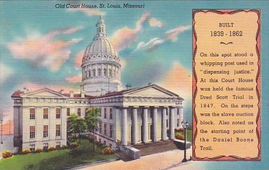 Missouri Saint Louis Old Court House