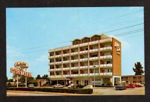 VA Holiday Towers Motel NORFOLK VIRGINIA Postcard PC