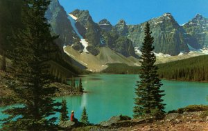 Canada - Alberta. Moraine Lake