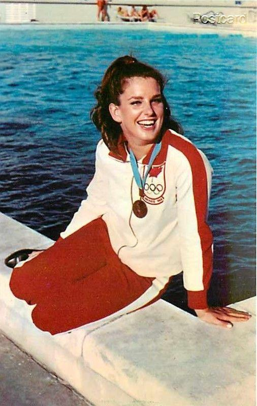Canada, Marilyn Courson, Olympic Bronze Medal Winner, Swimmer, Dexter No 47232-C