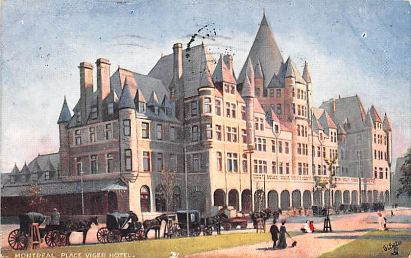 Place Viger Hotel Montreal 1908