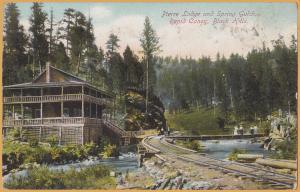 Rapid Canon, Black Hills, South Dakota-Pierre Lodge & Spring Gulch-1918