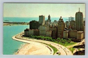 Chicago IL, The Drake Hotel, Chrome Illinois Postcard