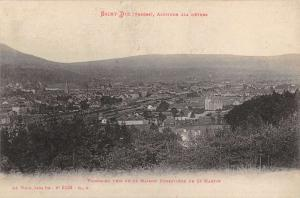 Saint Die France Vosges Panorama Of City Scenic Antique Postcard K23607