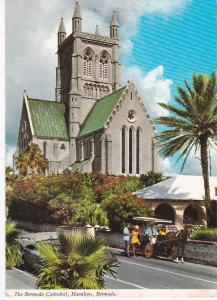 Post Card  Bermuda Hamilton The Bermuda Cathedral