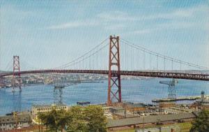 Canada Nova Scotia Angus L Macdonald Memorial Bridge Halifax