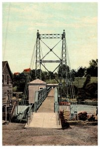 Maine  Waterville and Winslow Toll Bridge